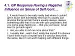4 1 gp response having a negative influence on sense of self cont