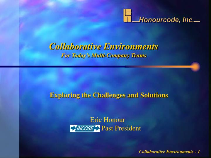 collaborative environments for today s multi company teams n.