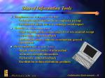 shared information tools