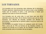 los tornados