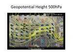 geopotential height 500hpa