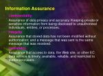 information assurance1