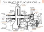 constant speed governors