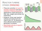 reaction turbine stages parsons1