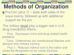 methods of organization4