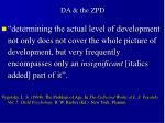 da the zpd