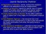 learner reciprocity poehner