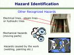 hazard identification12