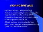 didanosine ddl