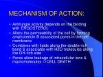 mechanism of action4