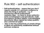 rule 902 self authentication
