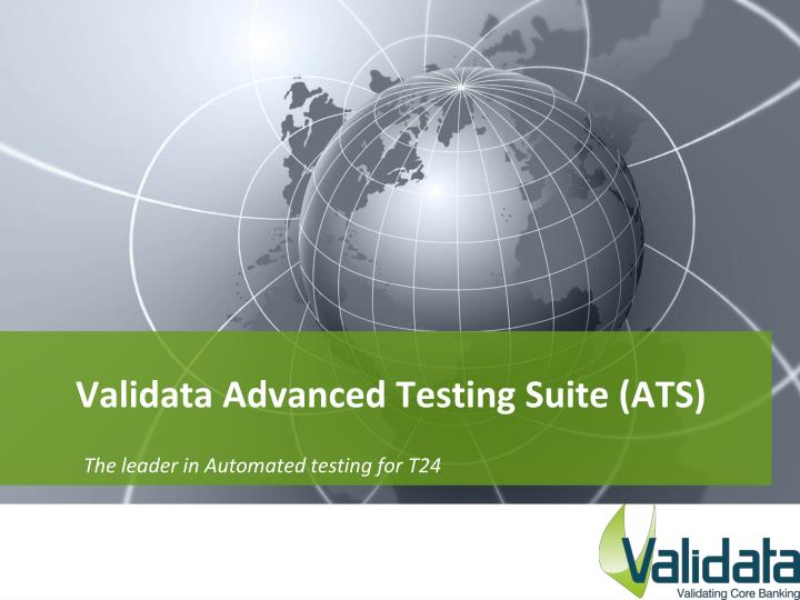 validata advanced testing suite ats n.