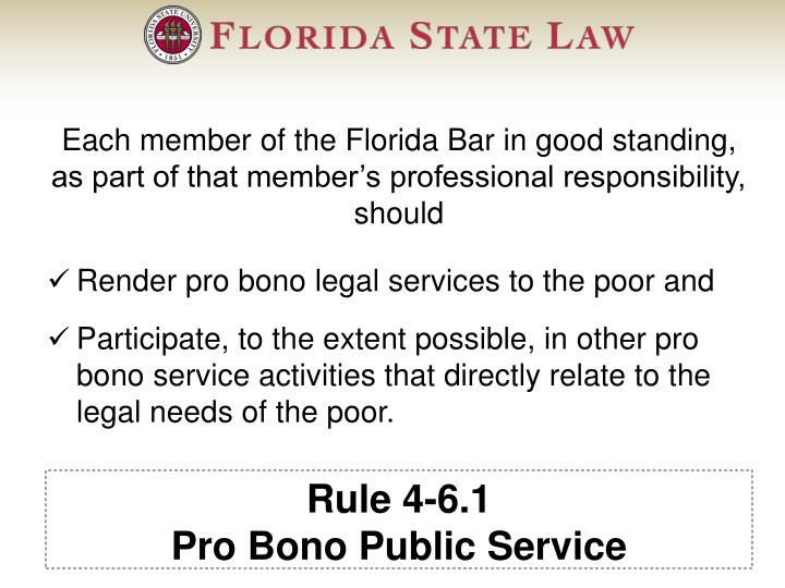 Rule 4-6.1