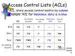 access control lists acls