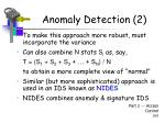 anomaly detection 24
