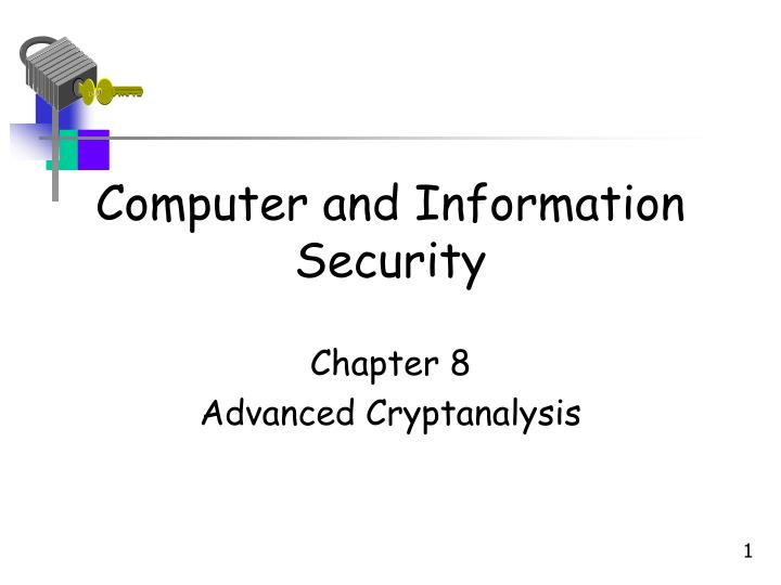 computer and information security n.