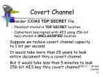 covert channel4