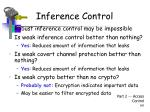 inference control1