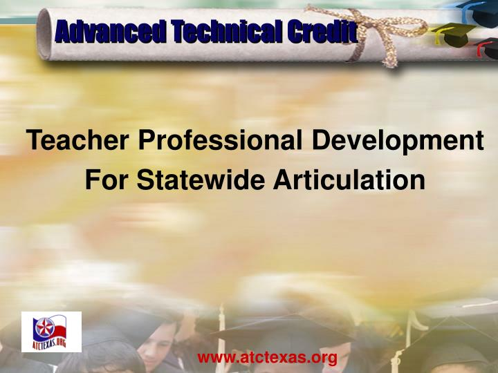 advanced technical credit n.
