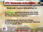 atc statewide articulation