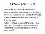 a pda for a n b n n 0