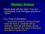 western science1