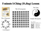 5 minute i ching yi jing lesson
