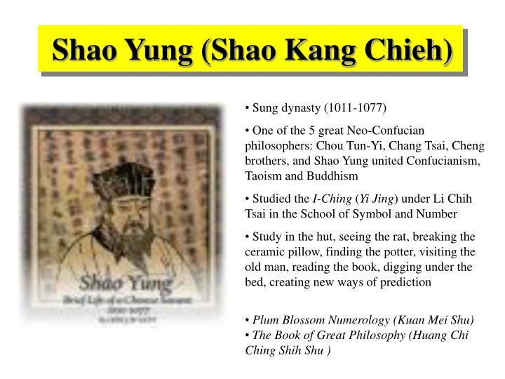 Shao Yung (Shao Kang Chieh)