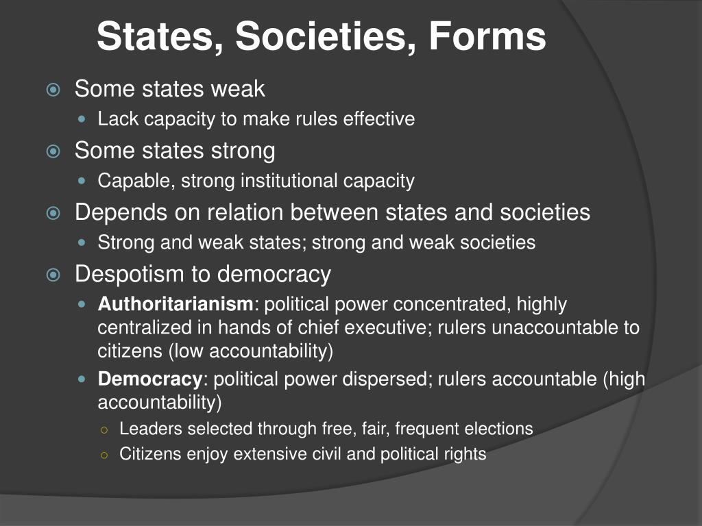 strong state weak society form - HD1024×768
