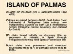 island of palmas