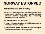 norway estopped