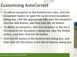 customizing autocorrect1