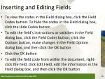 inserting and editing fields1