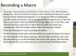 recording a macro1
