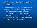 agv automatic guided vehicle definition
