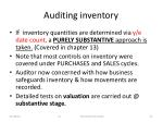 auditing inventory1