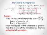 horizontal asymptotes4