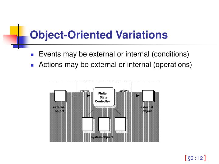 Object-Oriented Variations