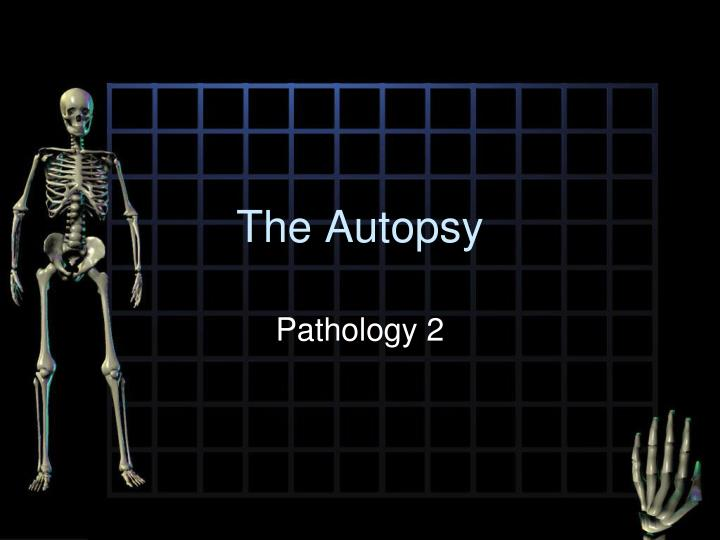 the autopsy n.