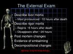the external exam4