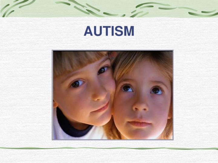 autism n.