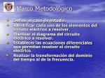 marco metodol gico