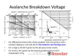 avalanche breakdown voltage2