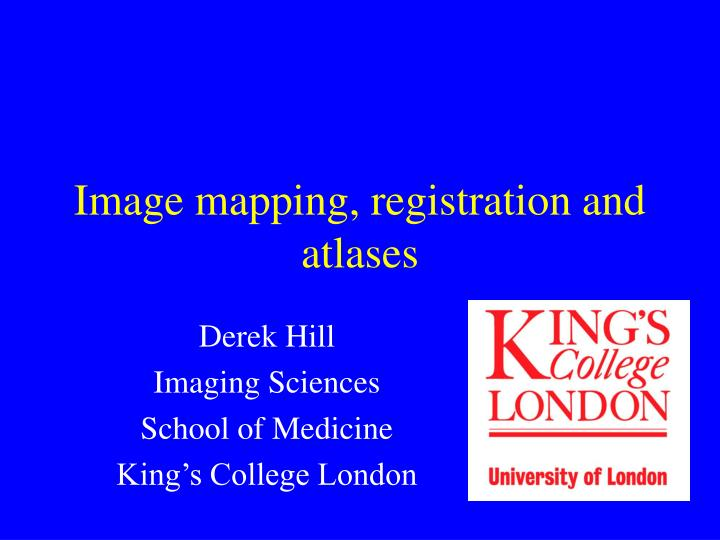 image mapping registration and atlases n.