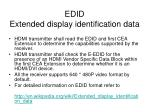 edid extended display identification data