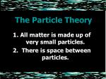 the particle theory2