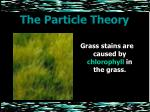 the particle theory25