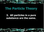 the particle theory5