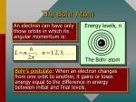 the bohr atom1