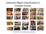 collective object classification in complex scenes